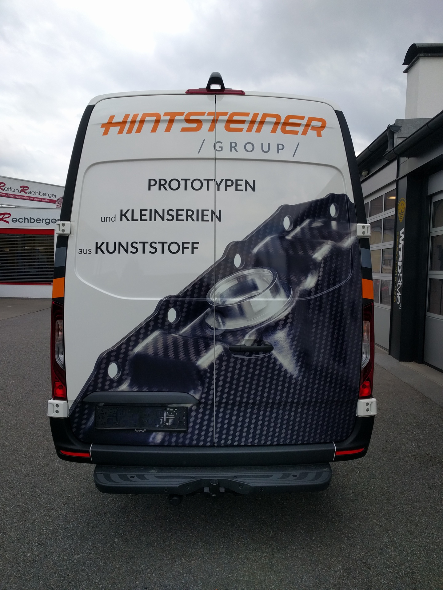 Folierung Nutzfahrzeuge Graz